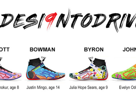 """Chase Elliott Foundation """"DESI9N TO DRIVE"""" Racing Shoes to Benefit Children's Healthcare of Atlanta"""
