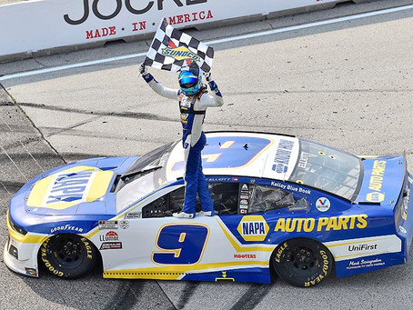 Elliott surges to Cup Series win at Road America