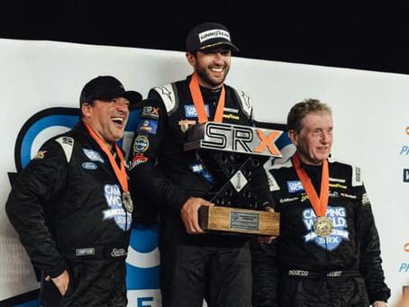 Elliott wins SRX Racing finale against all-star grid
