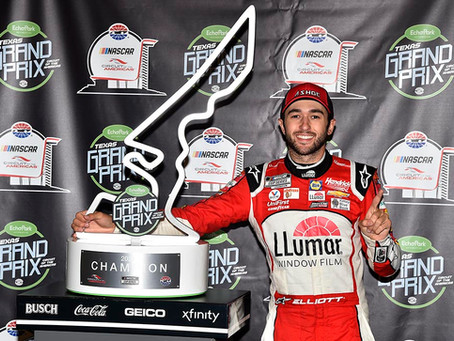 Elliott wins rain-shortened Austin road race at Circuit of The Americas
