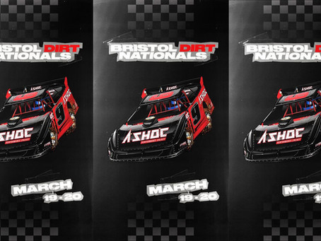 Chase to run A_SHOC Performance Energy sponsored Super Late Model at Bristol Dirt Nationals