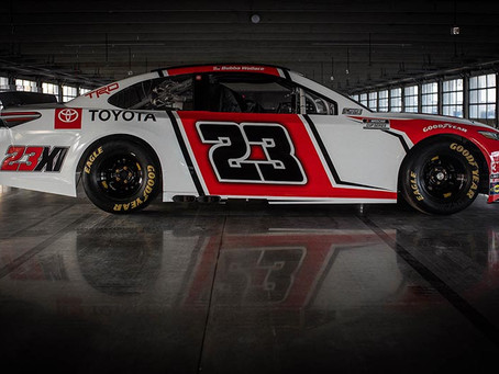 23XI RACING PARTNERS WITH TOYOTA, JGR
