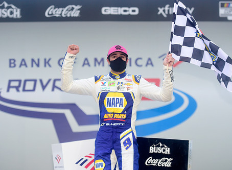 Elliott seals repeat Roval win in Playoffs' Round of 12 finale