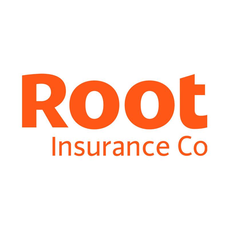Root logo box orange