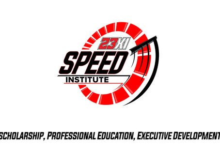 23XI RACING ANNOUNCES FORMATION OF SPEED INSTITUTE