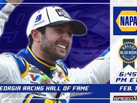 Chase Elliott Ceremony to Be Broadcast Feb. 1 on Speed51.TV