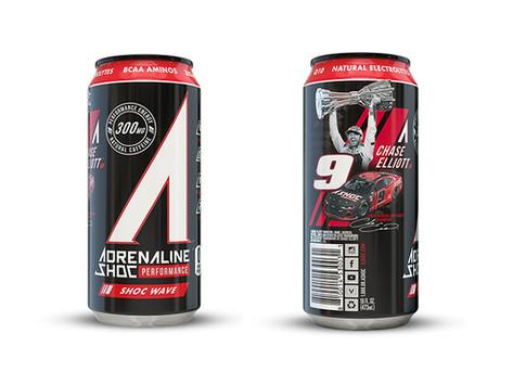 Adrenaline Shoc (A SHOC) Launches Chase Elliott® Signature Can