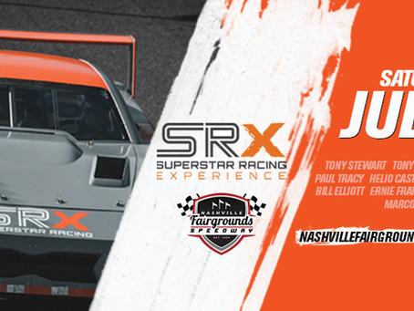 Elliott Joins Camping World SRX Series at Nashville