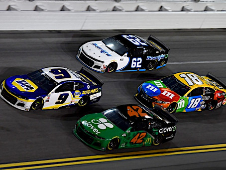 Chase to start 12th at Daytona 500
