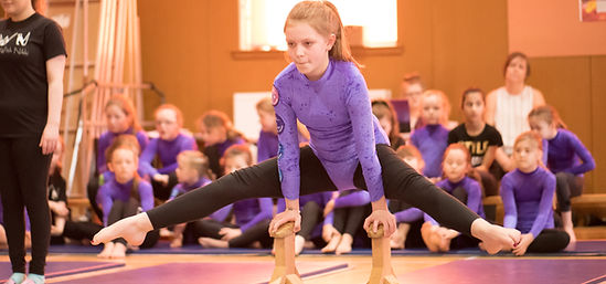 Gymnastics With Nikki Floor Set Marking Day