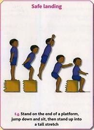 Gymnastics Pre-school - Safe landing