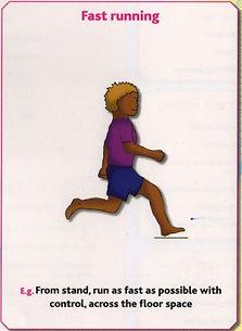 Gymnastics Pre-school - Fast running