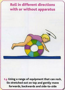 Gymnastics A11 - Roll in different directions with