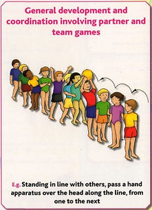 Gymnastics C16 - General development & co-ordinatio