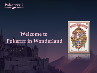 Pokerrrr in Wonderland is Now Available in the Store!