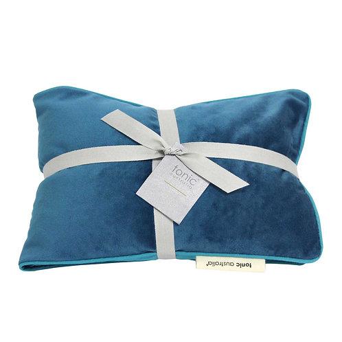 tonic heat pillow velvet teal