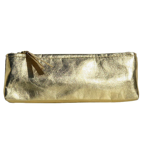 HUXTER PAPER PENCIL CASE - GOLD