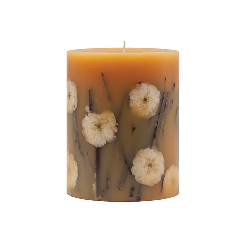 Rosy Rings Botanical Candle -Honey Tobacco