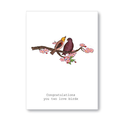 TokyoMilk - Card -  Congrats Love Birds