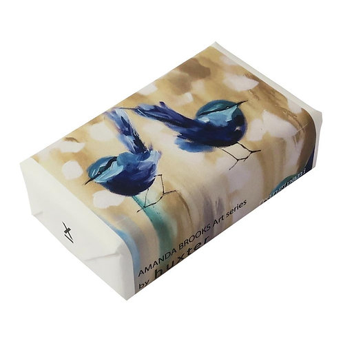 HUXTER BAR SOAP - PETITE BLUE WREN