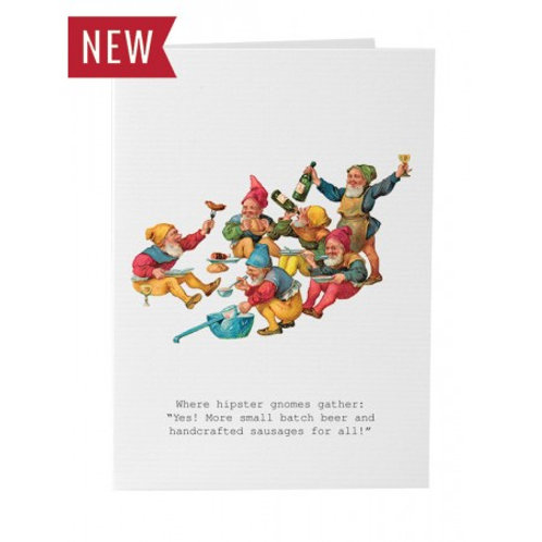 TokyoMilk - Card -  Hipster Gnomes