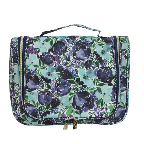 Tonic Essential Hanging Toiletry Bag Flouish Blue