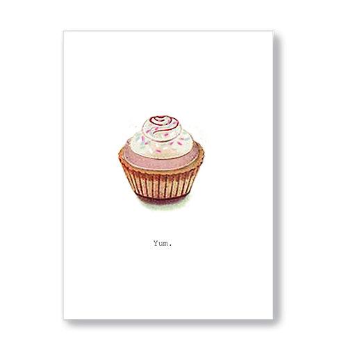 TokyoMilk - Card -  Yum (Cupcake)