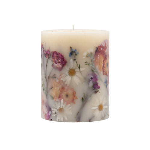 Rosy Rings Botanical Candle -Apricot Rose