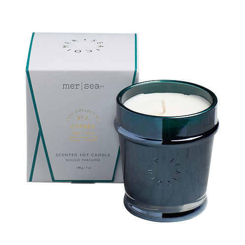Mer-Sea Luxe 7oz Candle - Cyprès