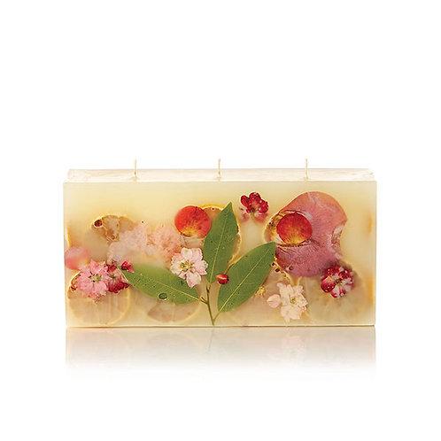 Rosy Rings Botanical Candle - Peony & Pomelo