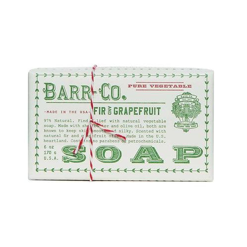 Barr-Co Fir & Grapefruit Bar Soap