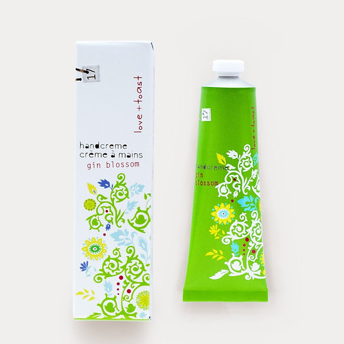 Love & Toast Gin Blossom Handcream