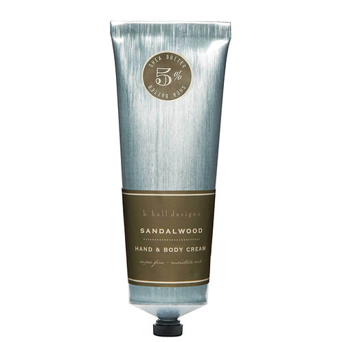 K.Hall Designs Shea Butter Handcream Sandalwood
