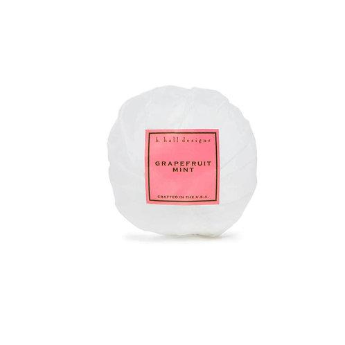 k.hall designs Bath Bombs Grapefruit Mint