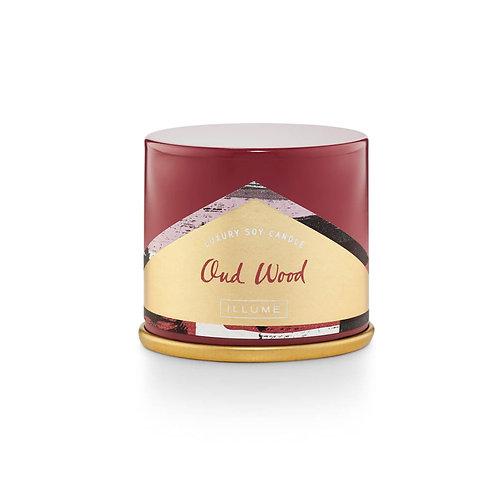 Demi Vanity Tin Candle Oud Wood