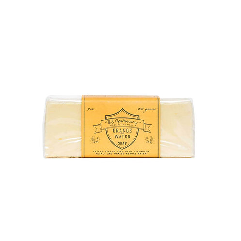 U.S. Apothecary - Orange Water - Bar Soap