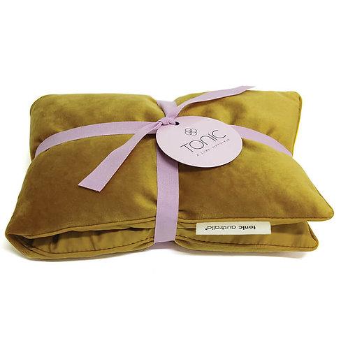 Tonic Heat Pillow Velvet Ochre