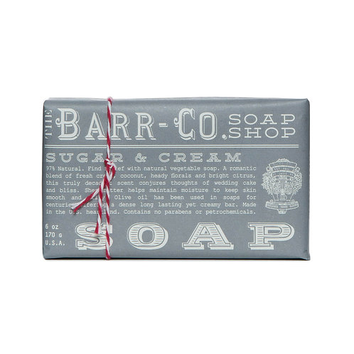 Barr-Co - Soap Shop Bar Soap Sugar & Cream