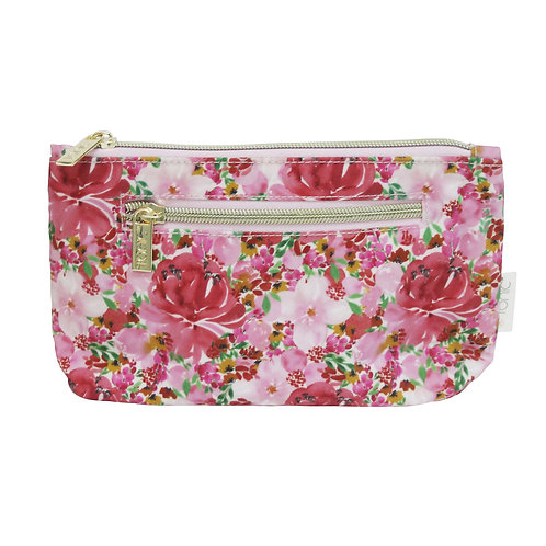 Tonic Small Cosmetic Bag Flourish Pink