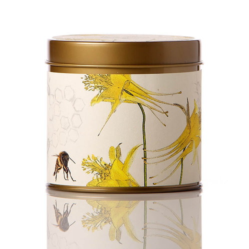 Rosy Rings Soy Tin Candle Honey Tobacco 50hr