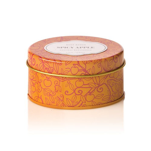 Rosy Rings Travel Tin Candle Spicy Apple