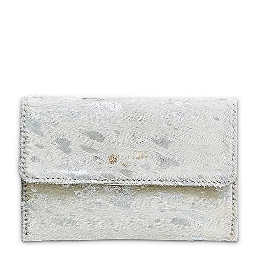 Mer-Sea Silver Splash Cowhide Belt Bag