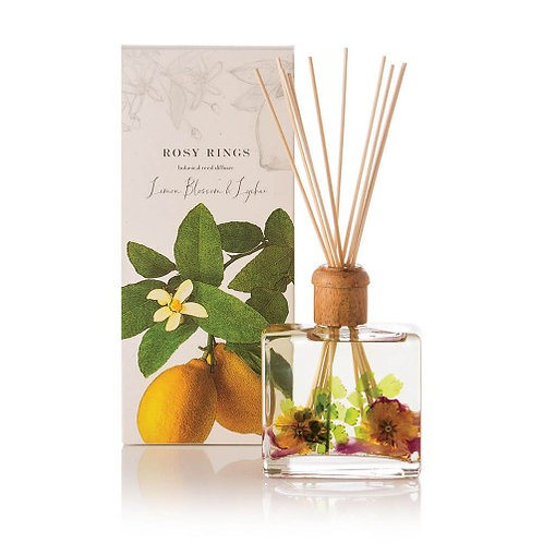 Rosy Rings Reed Diffuser - Lemon Blossom & Lychee