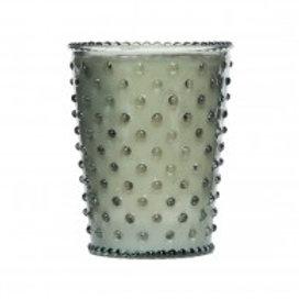 Simpatico - Hobnail Glass Candle Fern 17