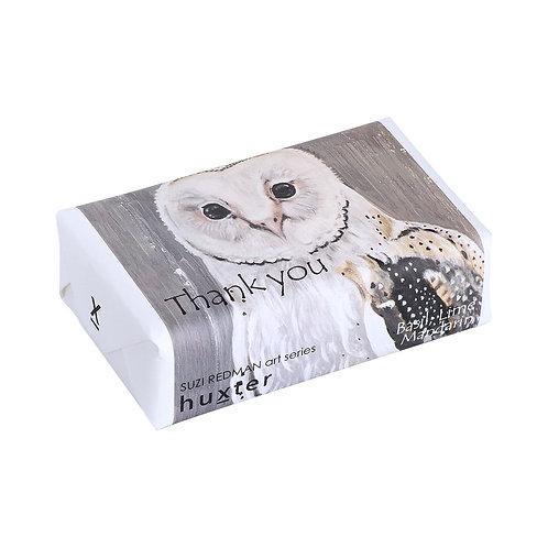 "HUXTER BAR SOAP - ""Owl"" Thank you"