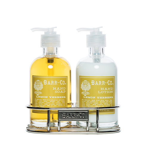 Barr-Co Soap Shop Caddy Duo Lemon Verbena