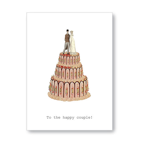 TokyoMilk - Card -  Happy Couple/Cake