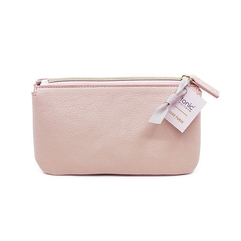 Tonic Luxe Purse Blush