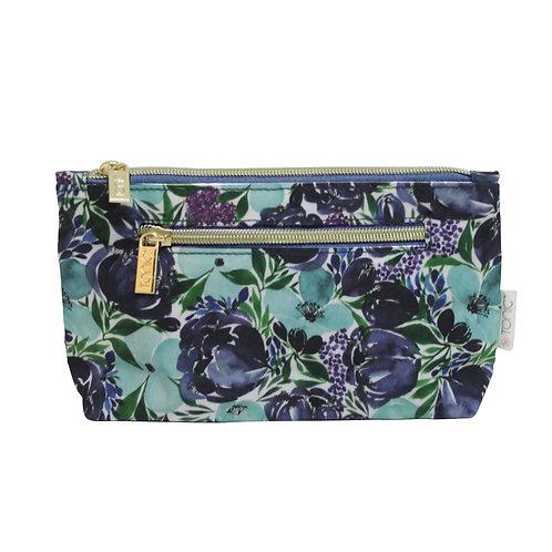 Tonic Small Cosmetic Bag Flourish Blue