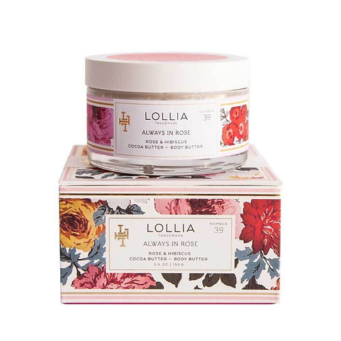 Lollia Always In Rose Whipped Body Butter
